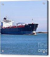 Petroleum Tanker En Route Acrylic Print