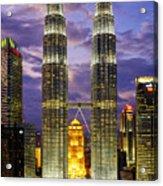 Petronas Towers Acrylic Print