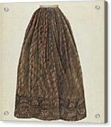 Petticoat Acrylic Print