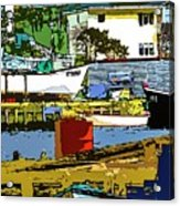 Petty Harbor Acrylic Print