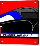 Peugeot 908 Hdi Sat - No. 8 Acrylic Print