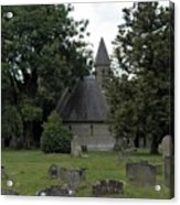 Pewsey Parish Council Cemetary Acrylic Print