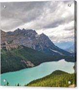 Peyto Lake - Banff National Park, Canada Acrylic Print