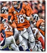 Peyton Manning Art 2 Acrylic Print