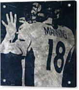 Peyton Manning Broncos 2 Acrylic Print