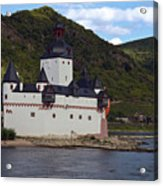Pfalz Castle Acrylic Print