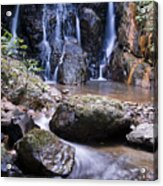 Pha Sua Waterfall Acrylic Print
