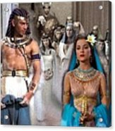 Pharaoh Of Egypt Exodus 2 Acrylic Print