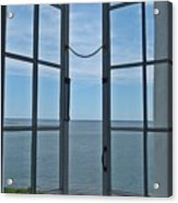 Phare Fenetre Lighthouse Window Acrylic Print