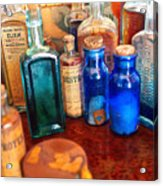 Pharmacist - Medicine Cabinet  Acrylic Print by Mike Savad