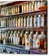 Pharmacy - Pick And Elixir Acrylic Print