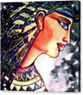 Pharoah Of Egypt Acrylic Print