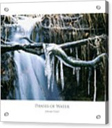 Phases Of Water Acrylic Print