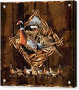 Pheasant Lodge Acrylic Print by JQ Licensing