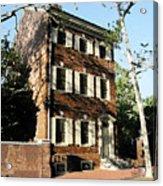Phiily Row House 1 Acrylic Print