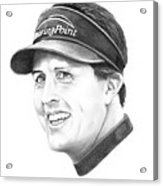 Phil Mickelson Acrylic Print