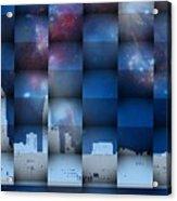 Philadelphia 3d Acrylic Print