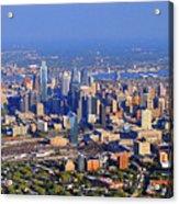 Philadelphia Aerial 0518 Acrylic Print by Duncan Pearson
