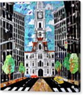 Philadelphia Acrylic Print by Blair Barbour