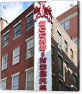Philadelphia - Bookbinders Acrylic Print