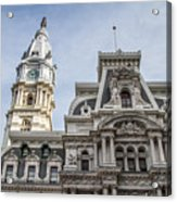 Philadelphia City Hall #2 Acrylic Print