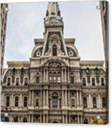 Philadelphia City Hall Acrylic Print