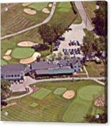 Philadelphia Cricket Club Flourtown Clubhouse 6075 W Valley Green Rd  Flourtown Pa  19031 Acrylic Print by Duncan Pearson