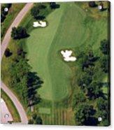 Philadelphia Cricket Club Militia Hill Golf Course 10th Hole Acrylic Print by Duncan Pearson