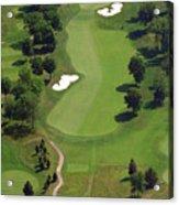 Philadelphia Cricket Club Militia Hill Golf Course 16th Hole 2 Acrylic Print