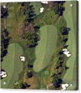 Philadelphia Cricket Club Militia Hill Golf Course 18th Hole Acrylic Print by Duncan Pearson