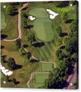 Philadelphia Cricket Club Militia Hill Golf Course 9th Hole Acrylic Print