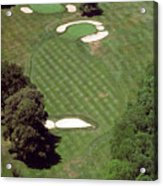 Philadelphia Cricket Club St Martins Golf Course 2nd Hole 415 W Willow Grove Ave Phila Pa 19118 Acrylic Print by Duncan Pearson
