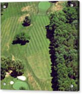 Philadelphia Cricket Club St Martins Golf Course 6th Hole 415 West Willow Grove Ave Phila Pa 191118 Acrylic Print by Duncan Pearson