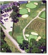 Philadelphia Cricket Club Wissahickon Golf Course 10th Hole Acrylic Print by Duncan Pearson