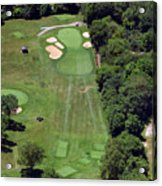 Philadelphia Cricket Club Wissahickon Golf Course 15th Hole Acrylic Print by Duncan Pearson