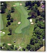 Philadelphia Cricket Club Wissahickon Golf Course 16th Hole Acrylic Print by Duncan Pearson