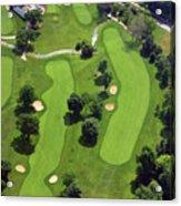 Philadelphia Cricket Club Wissahickon Golf Course 18th Hole Acrylic Print