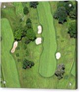 Philadelphia Cricket Club Wissahickon Golf Course 7th Hole Acrylic Print by Duncan Pearson