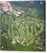 Philadelphia Cricket Club Wissahickon Golf Course Flourtown Acrylic Print