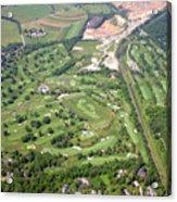Philadelphia Cricket Club Wissahickon Militia Hill Golf Courses Acrylic Print by Duncan Pearson