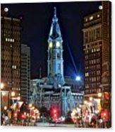 Philadelphia Downtown Acrylic Print