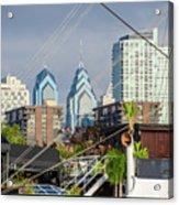 Philadelphia From Penns Landing Acrylic Print