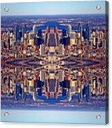 Philadelphia Geometric Collage Acrylic Print