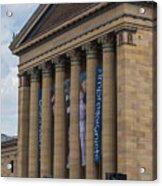 Philadelphia Museum Of Art  Acrylic Print