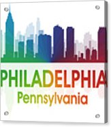 Philadelphia Pa Acrylic Print