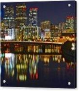 Philadelphia Pa River View Acrylic Print