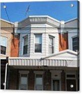 Philadelphia Row Houses Acrylic Print