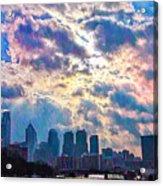 Philadelphia Sky Acrylic Print