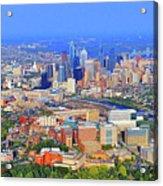 Philadelphia Skyline 3400 Civic Center Blvd Acrylic Print