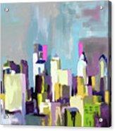 Philadelphia Skyline 650 1 Acrylic Print